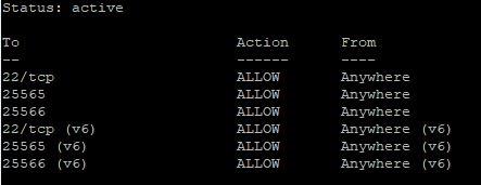 Active firewall